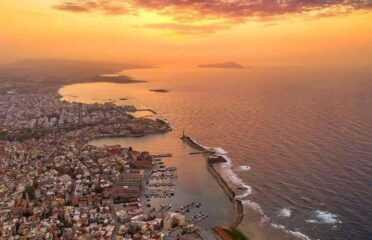 Πτήση με παραπέντε στα Χανιά, Κρήτη