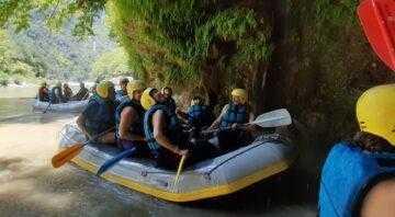 Rafting στον Βοϊδομάτη (by Via Natura)