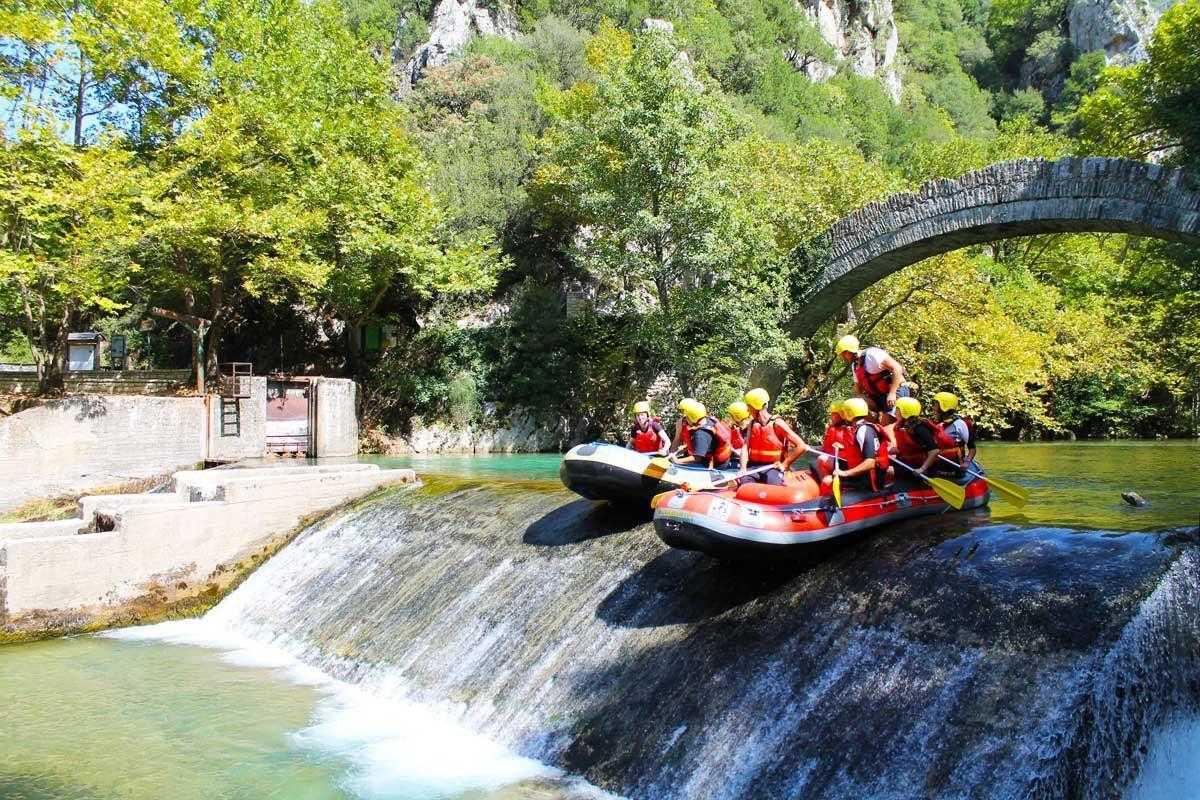 Rafting στον Βοϊδομάτη (by Zagori Outdoor Activities)