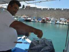 Εκδρομή με σκάφος για Ψάρεμα στην Ρόδο