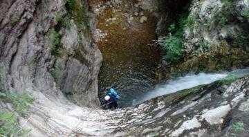 Canyoning στα Τζουμέρκα (Via Natura)
