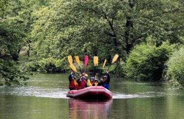 Ράφτινγκ στον ποταμό Μογλενίτσα