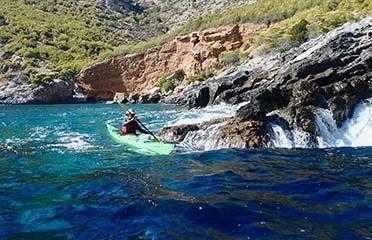 Βόλτα με θαλάσσιο Kayak σε απομακρυσμένα νησιά στο Τολό