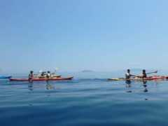 Βόλτα με θαλάσσιο Kayak στην αρχαία Επίδαυρο