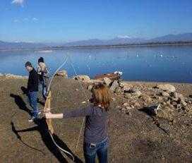 Τοξοβολία στη λίμνη της Κερκίνης (by itavros nature activities)