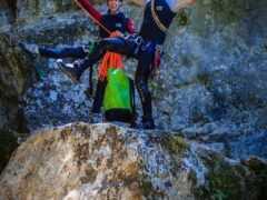 Canyoning στο Φαράγγι Μέγα Ρέμα