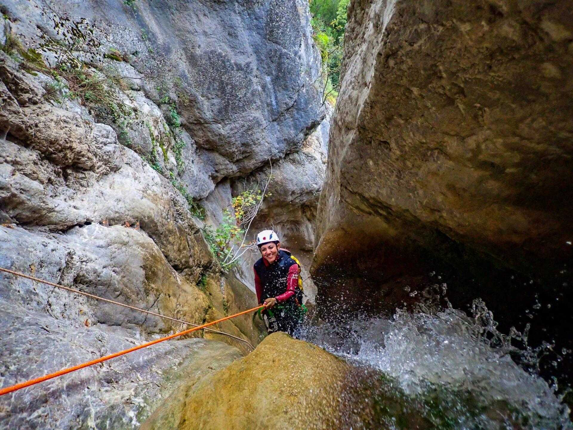 Canyoning στο Φαράγγι Ροδοκάλου