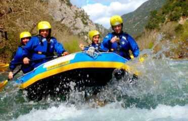 Rafting στον Εύηνο Ποταμό – Ναύπακτος