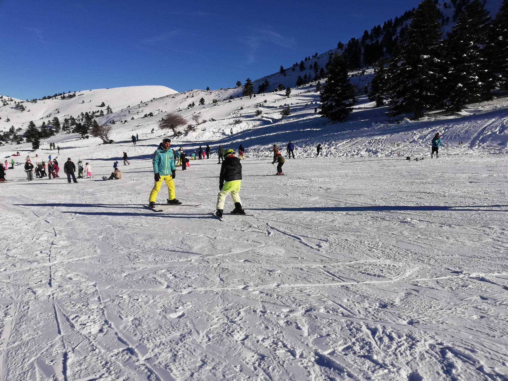 Mάθημα Ski/Snowboard στα Καλάβρυτα