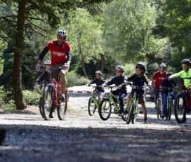 Ορεινή ποδηλασία στην Πάρνηθα