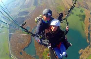 Πτήση tandem paragliding πάνω από τα Ζαγοροχώρια