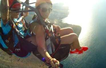 Πτήση tandem paragliding πάνω από την Πλαταριά Θεσπρωτίας
