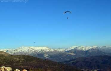 Πτήση tandem paragliding πάνω από την Άρτα