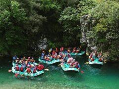 Rafting στον καθαρότερο ποταμό της Ελλάδας – Βοϊδομάτης