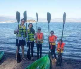 Θαλάσσιο Kayak και ξενάγηση στη Βυθισμένη πόλη και το μικρό Θέατρο της Επιδαύρου