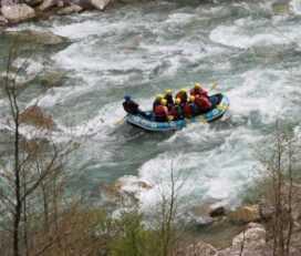 Rafting στον Ασπροπόταμο